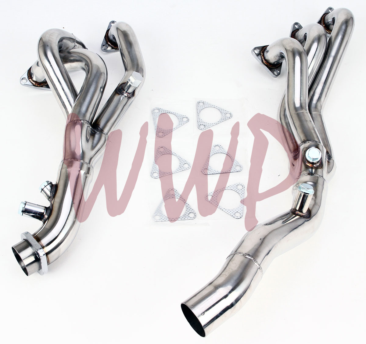 Stainless Steel Exhaust Headers Manifold System For 01 06