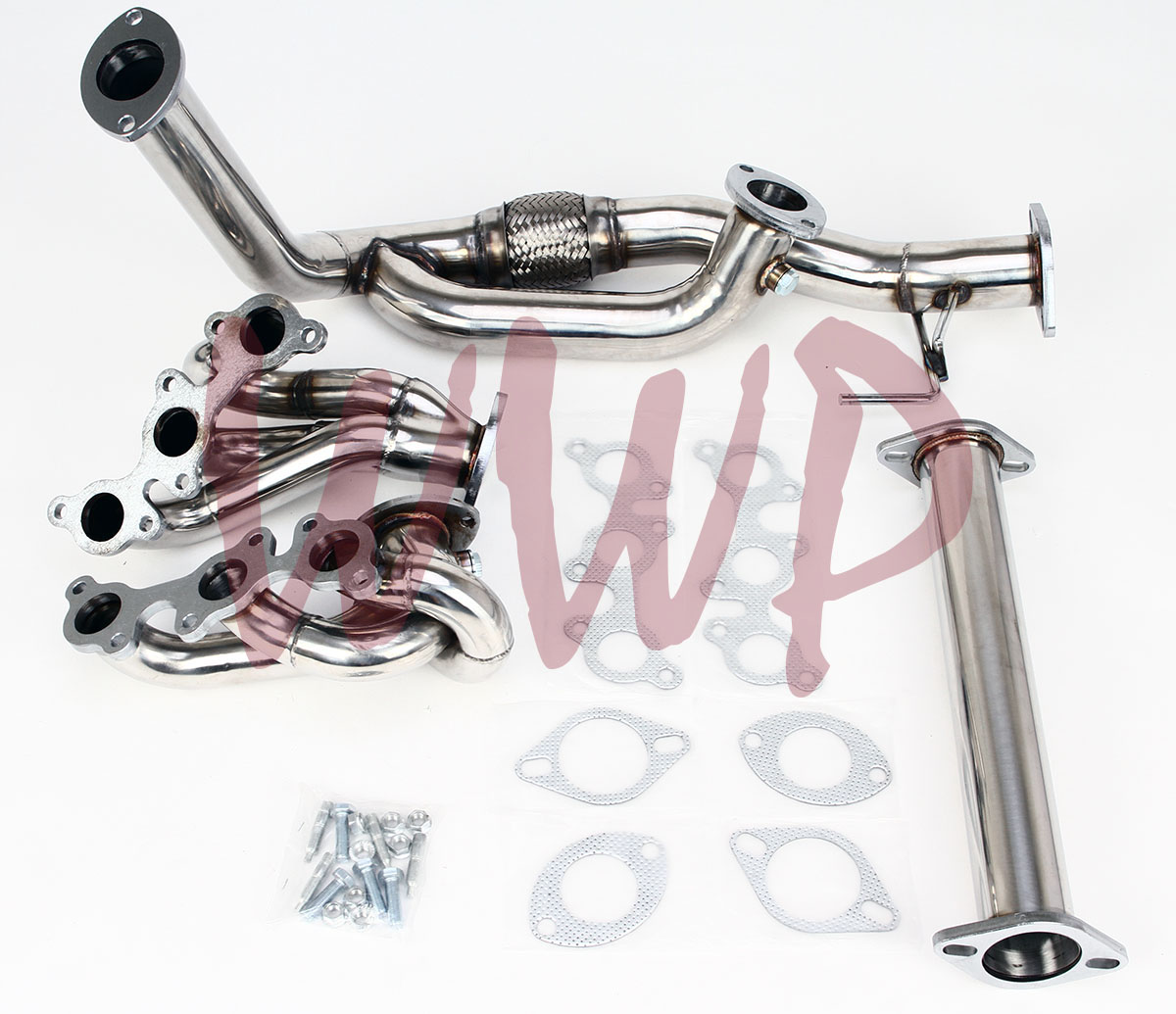Toyota Solara Exhaust Manifold Engine System Intake: Stainless Steel Exhaust Headers Manifold System For 96-01