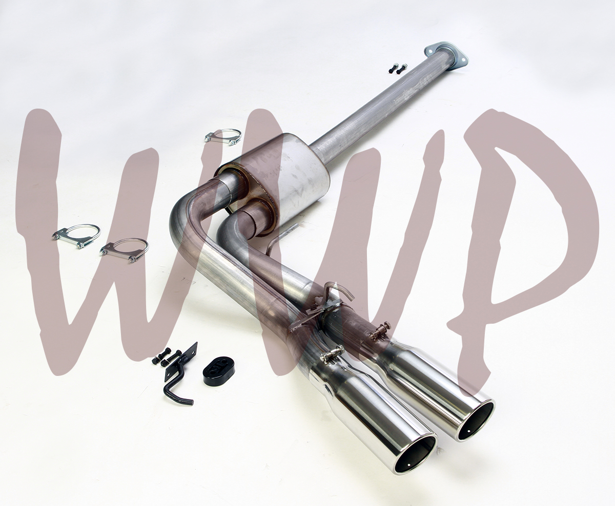 """Stainless Steel 3/"""" Cat Back Exhaust Muffler System 15-19 Ford F150 5.0L V8 Truck"""