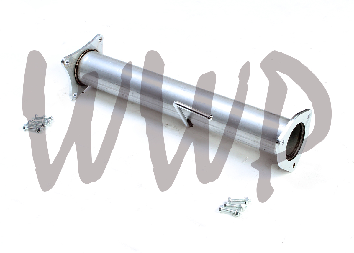 "Stainless Race 4/"" Exhaust Pipes For 13-17 Dodge Cummins 6.7L Turbo Diesel"