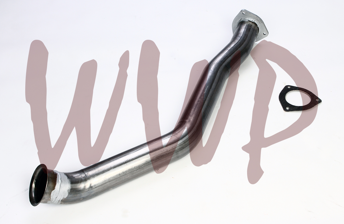"4/""Race Exhaust Delete Turbo Downpipe For 07-12 Dodge Ram Cummins 6.7L Diesel"